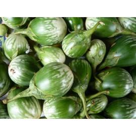 بذر بادمجان سبز توپی